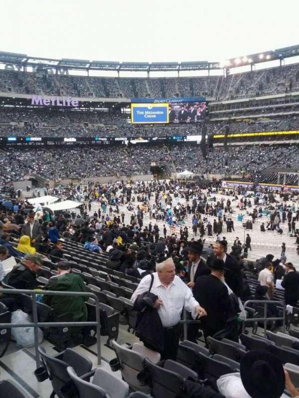 MetLife Stadium, secção: 133, fila: 32, lugar: 19