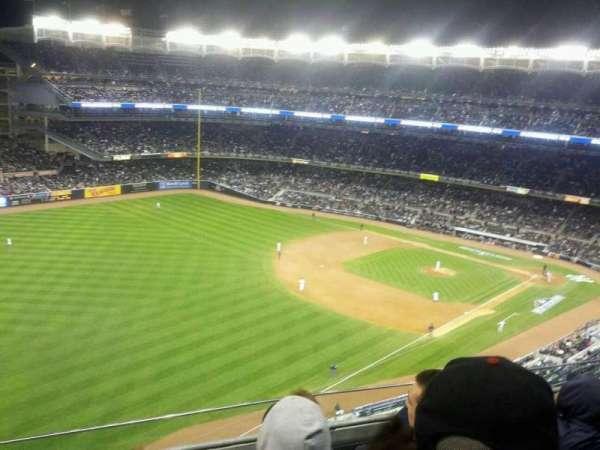 Yankee Stadium, secção: 431a, fila: 4, lugar: 14
