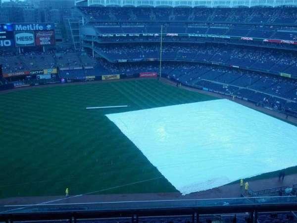 Yankee Stadium, secção: 428, fila: 7, lugar: 1