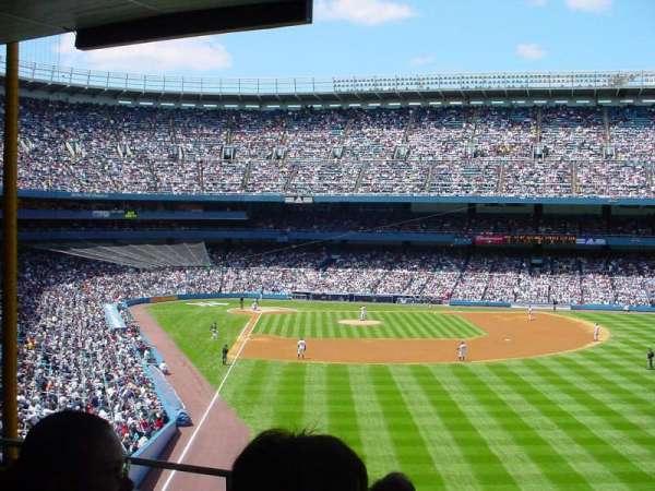 Old Yankee Stadium, secção: 527, fila: C, lugar: 8