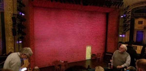 Shubert Theatre, secção: Mezzanine Left, fila: E, lugar: 15