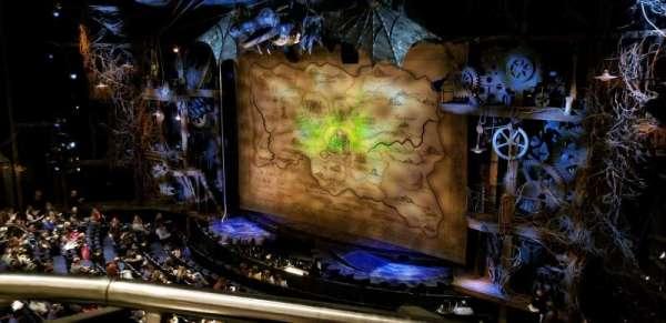 Gershwin Theatre, secção: FMEZZ, fila: EE, lugar: 2