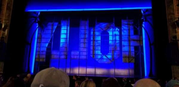 Nederlander Theatre, secção: Orchestra C, fila: L, lugar: 104