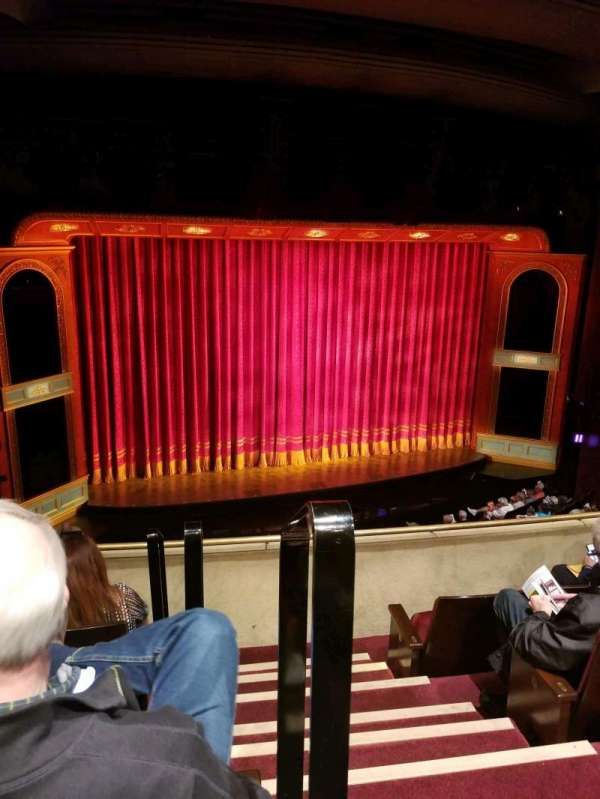 Marquis Theatre, secção: Mezzanine L, fila: D, lugar: 1