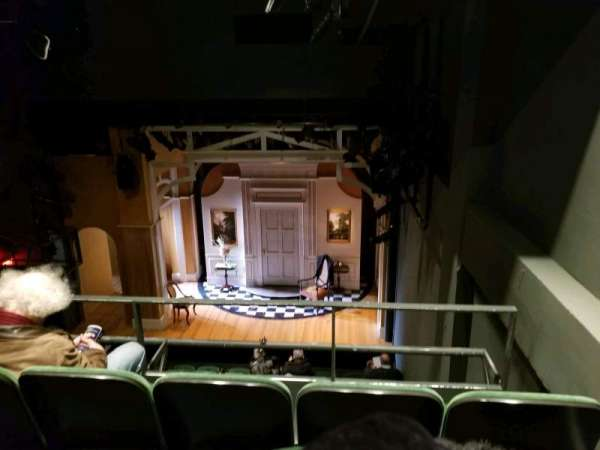 The Irish Repertory Theater, secção: Balcony, fila: C, lugar: 107