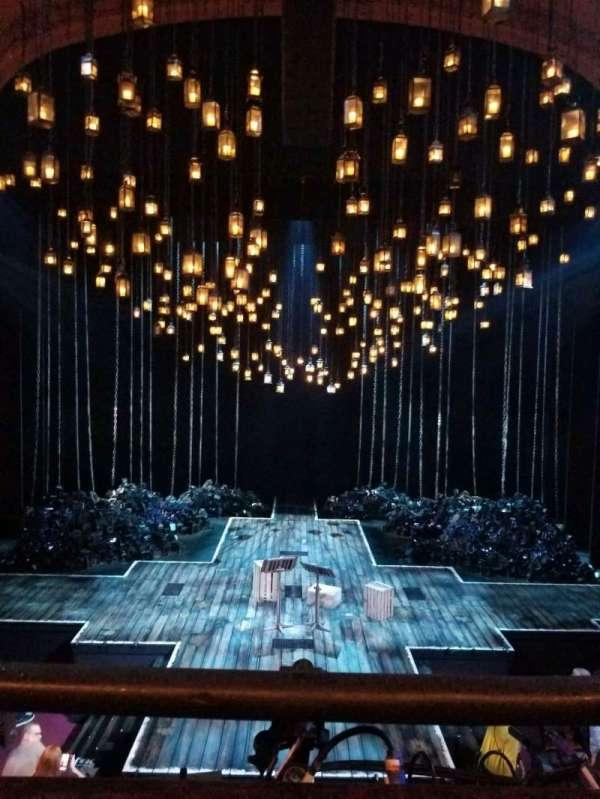 Lyceum Theatre (Broadway), secção: Mezzanine C, fila: A, lugar: 109
