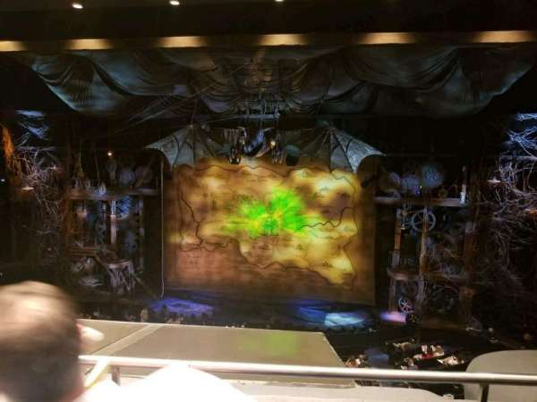 Gershwin Theatre, secção: Front Mezzanine C, fila: B, lugar: 115
