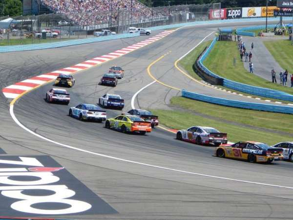 Watkins Glen International, secção: Ninety, fila: 21-28