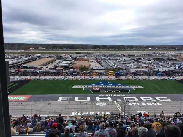 Atlanta Motor Speedway, secção: 245, fila: 58, lugar: 11
