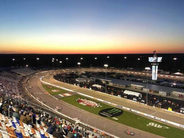 Richmond International Raceway, secção: P, fila: 22, lugar: 1