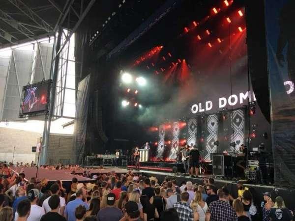 Budweiser Stage, secção: 201, fila: A, lugar: 5