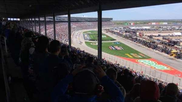 Texas Motor Speedway, secção: PU131, fila: 62, lugar: 1