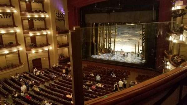 Ziff Ballet Opera House at the Arsht Center, secção: 2 Tier Right, fila: A, lugar: 28