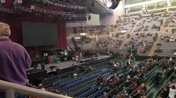 Allen County War Memorial Coliseum , secção: 216, fila: 10, lugar: 14