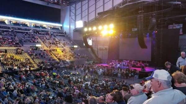 Allen County War Memorial Coliseum , secção: 219, fila: 13, lugar: 1