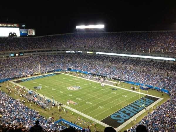Bank of America Stadium, secção: 535, fila: 27, lugar: 3