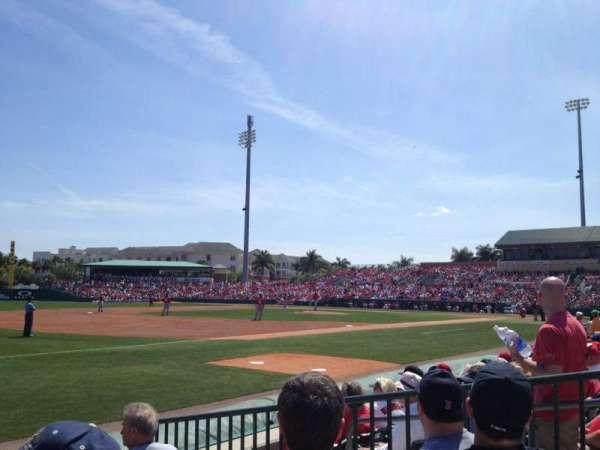 Roger Dean Chevrolet Stadium, secção: SRO, fila: LF