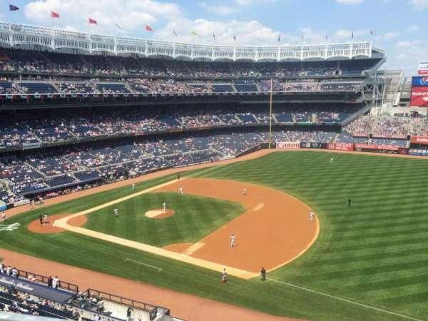 Yankee Stadium, secção: 313, fila: 1, lugar: 5