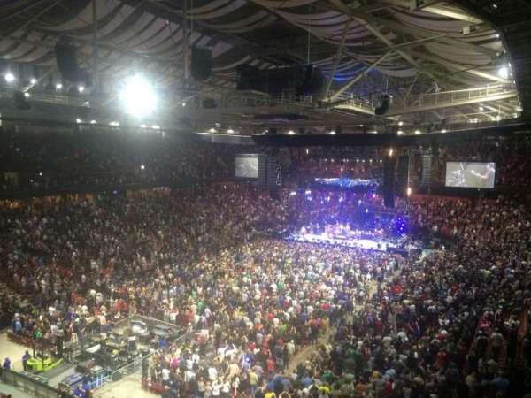 Bon Secours Wellness Arena, secção: 232, fila: I, lugar: 16