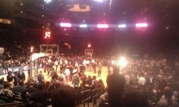 Madison Square Garden, secção: 9, fila: 16, lugar: 2