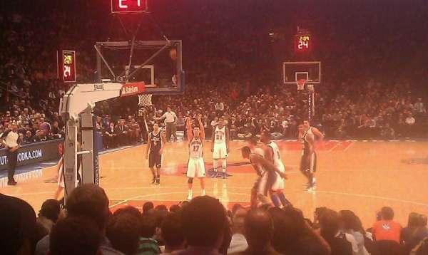 Madison Square Garden, secção: 9, fila: 16, lugar: 1