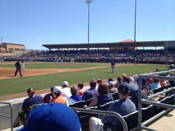 Osceola County Stadium, secção: 107, fila: 7, lugar: 2