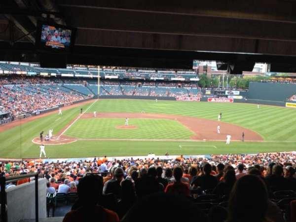 Oriole Park at Camden Yards, secção: 23, fila: 13, lugar: 22