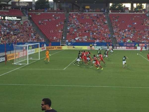Toyota Stadium, secção: 123, fila: 9, lugar: 24