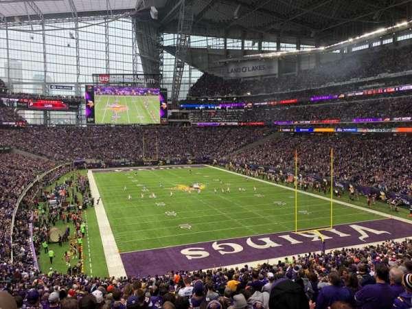 U.S. Bank Stadium, secção: 122, fila: 37, lugar: 5