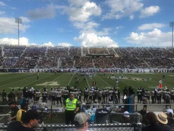 Spectrum Stadium, secção: 111, fila: 7, lugar: 17