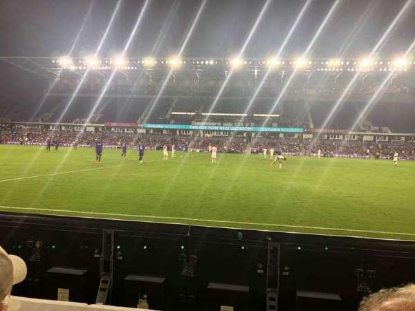 Exploria Stadium, secção: 33, fila: B, lugar: 22