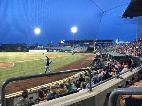 Baseball Grounds of Jacksonville, secção: 108, fila: G, lugar: 8