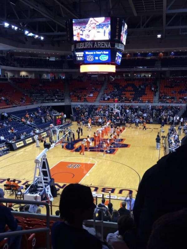 Auburn Arena, secção: 108, fila: 18, lugar: 14