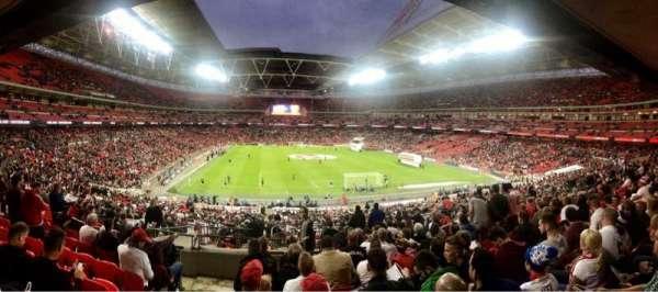 Wembley Stadium, secção: 113, fila: 44, lugar: 41
