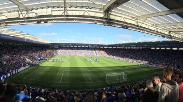 King Power Stadium, secção: Sk3, fila: FF, lugar: 97