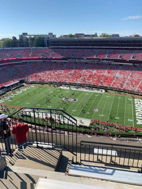 Sanford Stadium, secção: 604, fila: 7, lugar: 20