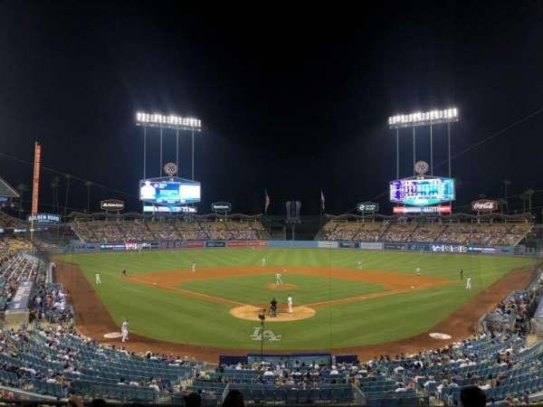 Dodger Stadium, secção: 102LG, fila: G, lugar: 5