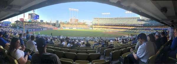 Dodger Stadium, secção: 39FD, fila: V, lugar: 2