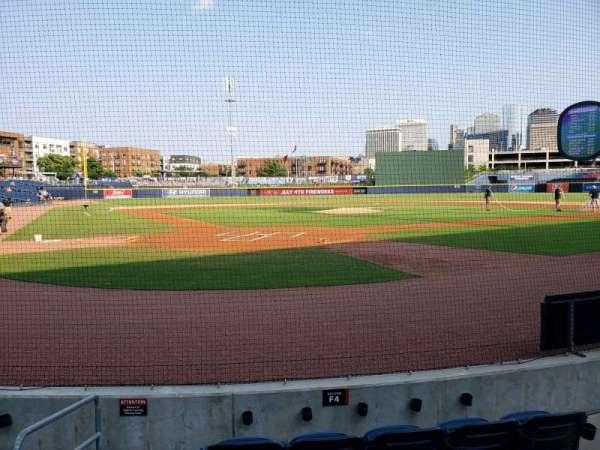 First Horizon Park, secção: Field Suite 4, fila: 1, lugar: 1