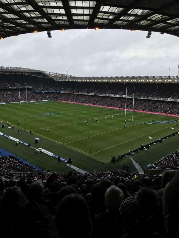 Murrayfield Stadium, secção: W6, fila: EE, lugar: 11