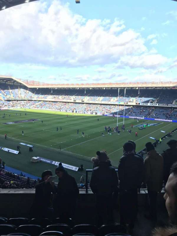Murrayfield Stadium, secção: W6, fila: T, lugar: 37