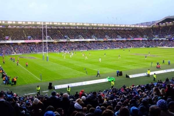 Murrayfield Stadium, secção: W31, fila: LL, lugar: 30