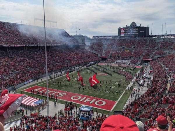 Ohio Stadium, secção: 7C, fila: 4, lugar: 4