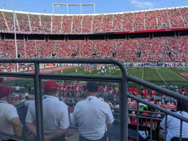 Ohio Stadium, secção: Club 2, fila: 2, lugar: 2