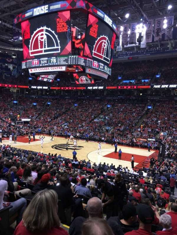 Scotiabank Arena, secção: 117, fila: 21, lugar: 15