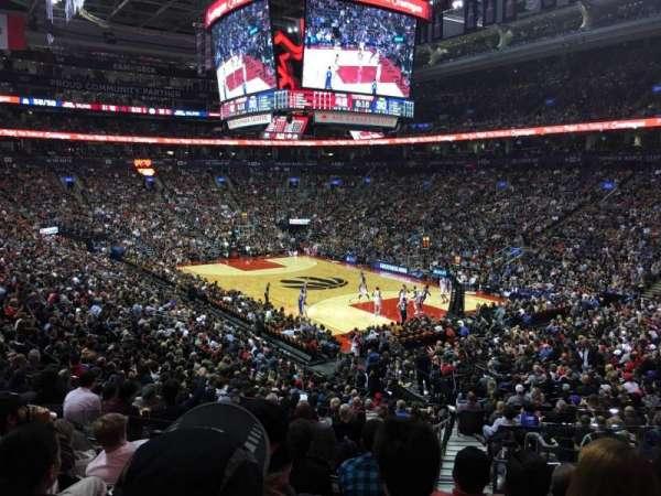Scotiabank Arena, secção: 105, fila: 25, lugar: 4