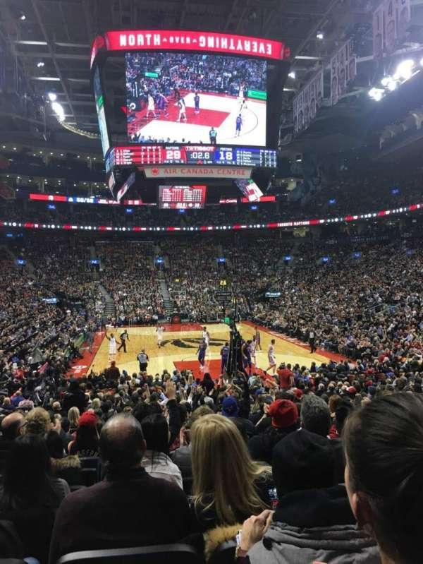 Scotiabank Arena, secção: 114, fila: 16, lugar: 9