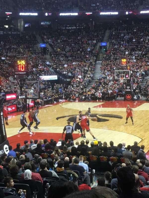Scotiabank Arena, secção: 112, fila: 14, lugar: 14