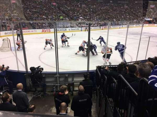 Scotiabank Arena, secção: 111, fila: 9, lugar: 5