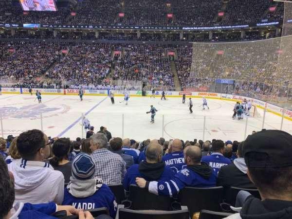 Scotiabank Arena, secção: 107, fila: 16, lugar: 10